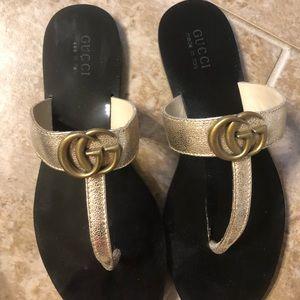 Gucci Shoes - Gucci Thong Sandals